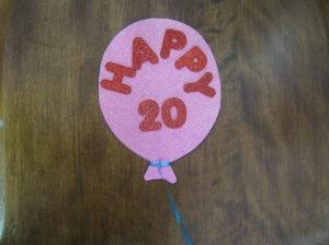 Balloon pink